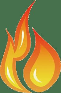 flame 198x300